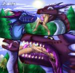 hungry (dragon) girls - vore
